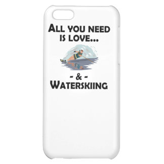 Love And Waterskiing iPhone 5C Covers