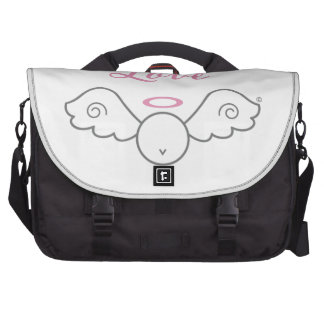 Love Angel Laptop Bag