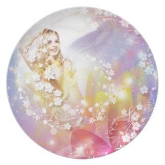 Love Angel Plates