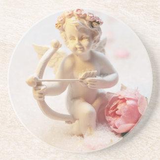 Love Angel Sandstone Coaster