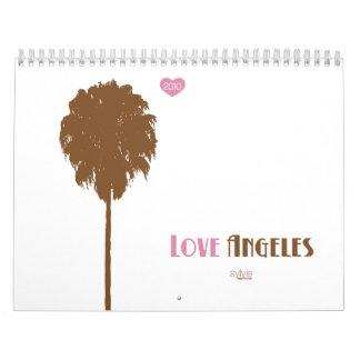 love angeles. 2010. wall calendars