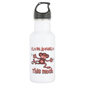 Love Angelo 18oz Water Bottle
