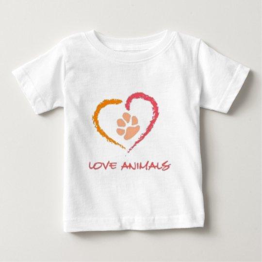 Love Animals Baby T-Shirt