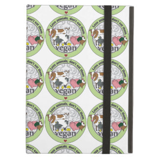 Love Animals Dont Eat Them Vegan Cover For iPad Air