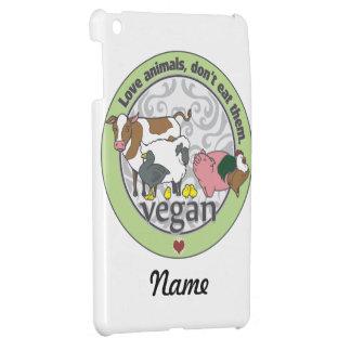 Love Animals Dont Eat Them Vegan iPad Mini Covers