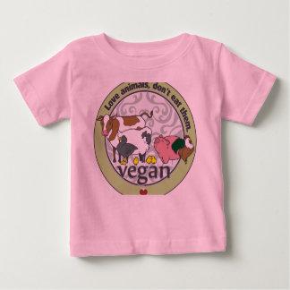 Love Animals Dont Eat Them Vegan Shirt