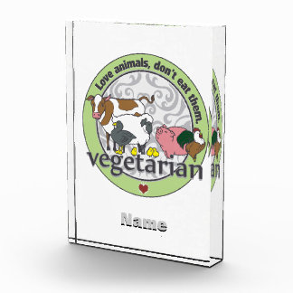 Love Animals Dont Eat Them Vegetarian Awards