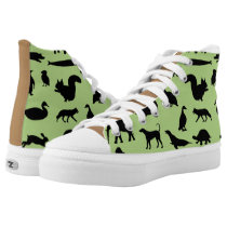 Love Animals High-Top Sneakers