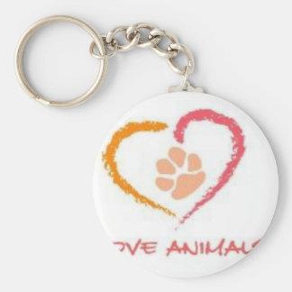 Love Animals Key Chains