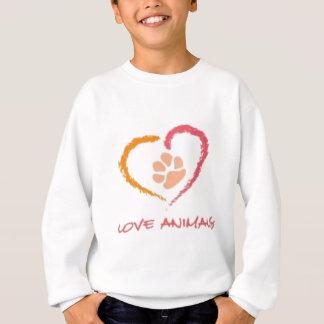 Love Animals Sweatshirt
