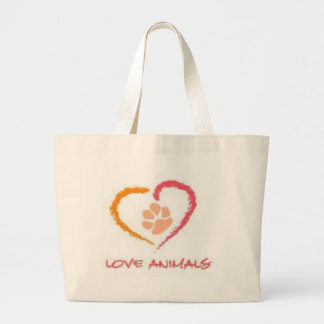 Love Animals Tote Bags