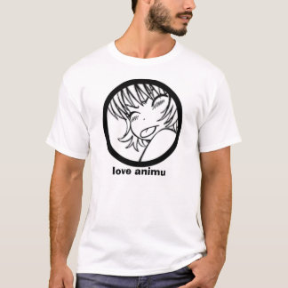 love animu - cute anime muuhh T-Shirt