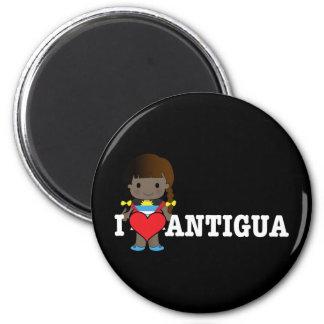 Love Antigua Refrigerator Magnets