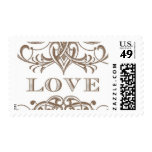 Love Antique A by Ceci New York Postage