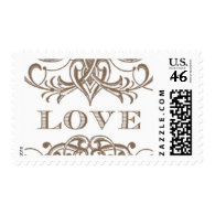 Love Antique A by Ceci New York Stamps