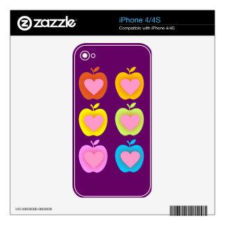 Love Apples iPhone 4 Skins