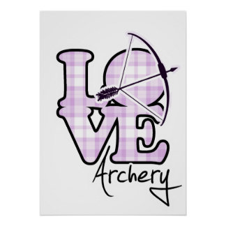 Love Archery Posters