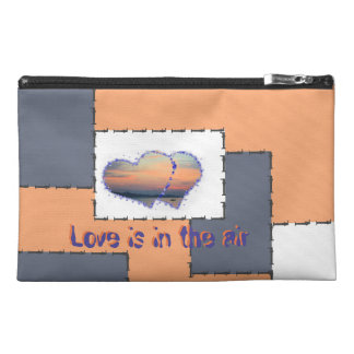 love are in the air travel accessories bag