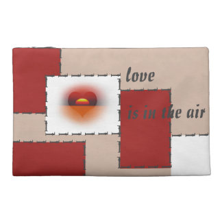 love are in the air travel accessory bags