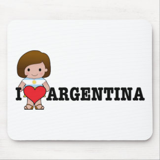 Love Argentina Mouse Pads