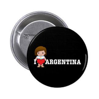 Love Argentina Pins