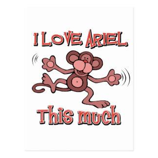 love ARIEL Postcard