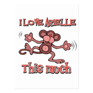 love ARIELLE Postcard
