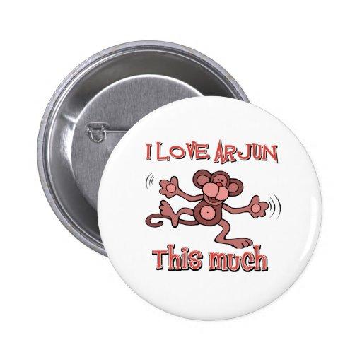 love ARJUN Pinback Button