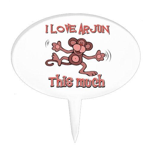 love ARJUN Cake Toppers