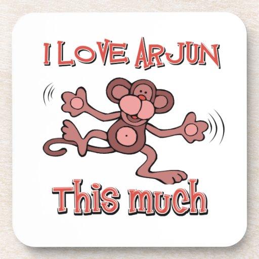 love ARJUN Drink Coasters