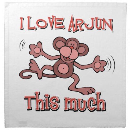 love ARJUN Cloth Napkins