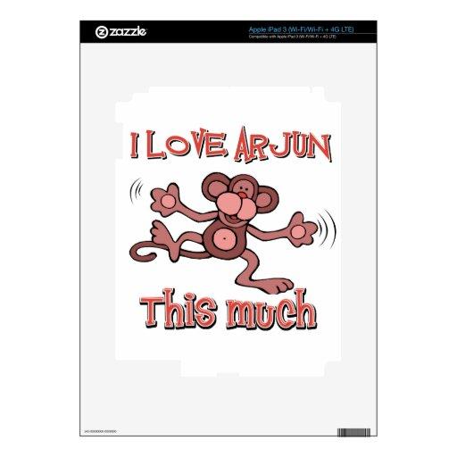 love ARJUN Skins For iPad 3
