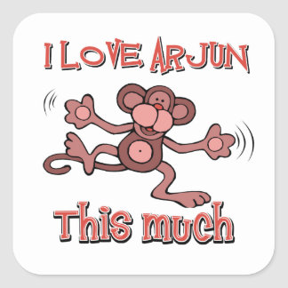 love ARJUN Square Sticker