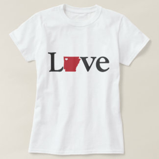Love Arkansas Design T-Shirt