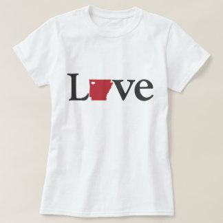 Love Arkansas Design T-Shirt