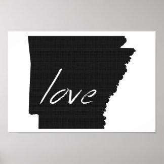Love Arkansas Poster