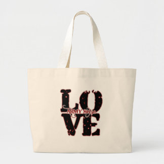 LOVE: Army style Canvas Bag