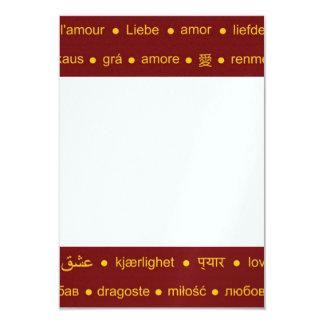 Love around the World Card