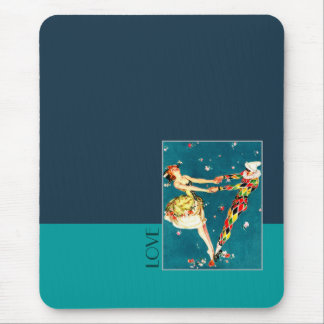 Love. Art Deco Design Gift Mousepad