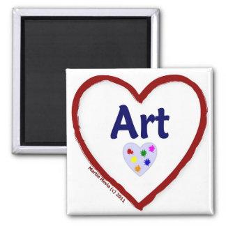 Love: Art - Magnet