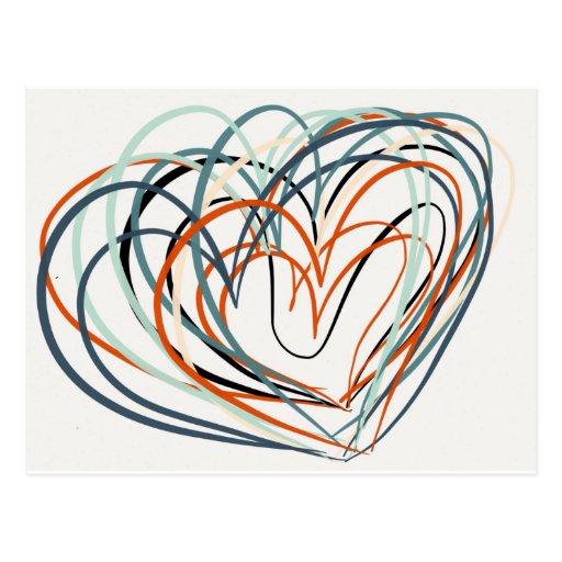 Love Art Postcard
