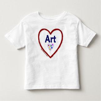 Love Art Toddler T-shirt