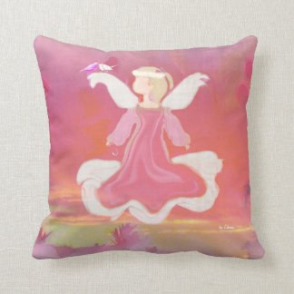 LOVE AS ANGELS LOVE THROW PILLOW