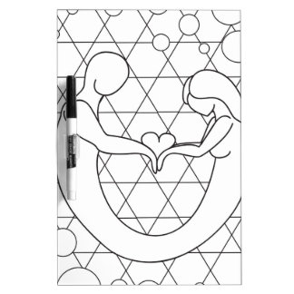 Love as one soul Dry-Erase board