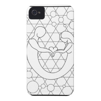 Love as one soul iPhone 4 Case-Mate case
