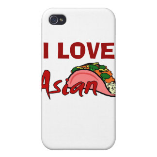 Love Asian Taco Cover For iPhone 4