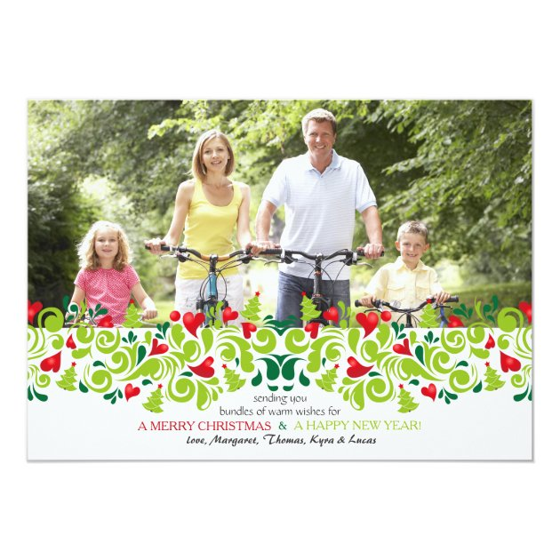 Love at Christmas Photo Holiday Card