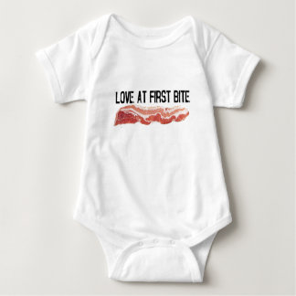 Love At First Bite Baby Bodysuit