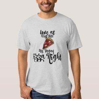 love at first Bite- its Vegan Pizza night! T-shirt