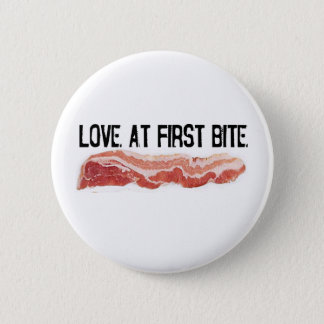 Love At First Bite Pinback Button